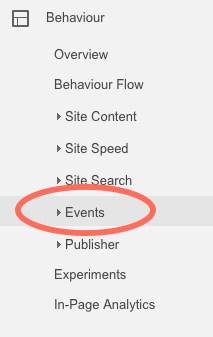 Linklay using Google analytics webhook